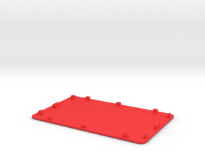 NANO_Pi2_LCD_COVER in Red Strong & Flexible Polished
