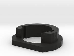 JG M4 short full stock adapter for Airsoft recieve in Black Natural Versatile Plastic