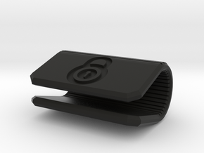 Corporate Webcam Cover - Add your own LOGO in Black Natural Versatile Plastic