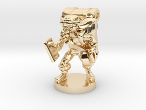 Goblin Book Merchant in 14K Yellow Gold