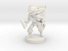 Goblin Book Merchant in White Natural Versatile Plastic