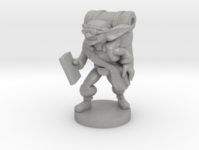 Goblin Book Merchant in Aluminum