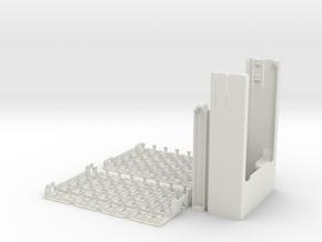 DiceMasters tournament deck case in White Natural Versatile Plastic