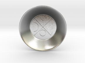 Seal of Venus Charging Bowl (small) in Natural Silver