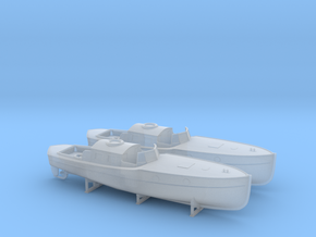 1/200 DKM 9m Captains Gig Set in Smooth Fine Detail Plastic