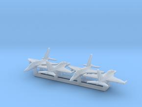 1/700 M-346 & Yak-130 x4 (FUD) in Smooth Fine Detail Plastic