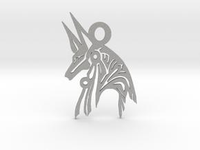Anubis - Amulet - Abstract in Aluminum