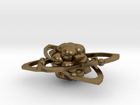 Atom d6 in Natural Bronze