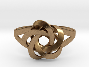 Kitani Bracelet small in Natural Brass: Small