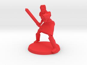 'Red' Justine in Red Processed Versatile Plastic