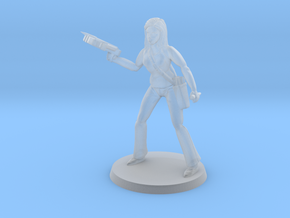 Lara the Slayer in White Natural Versatile Plastic