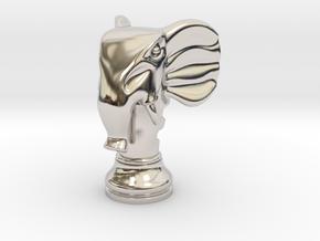 11Elephant Small Single in Platinum