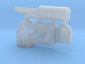 Modular Piston in Smooth Fine Detail Plastic