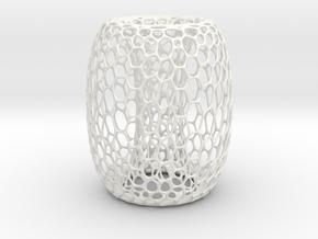 Phylum Vase in Gloss White Porcelain