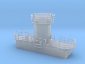 1/200 Bismarck Aft Searchlight Platform in Smooth Fine Detail Plastic
