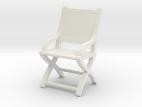 1:48 Civil War Chair in White Strong & Flexible