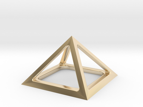 Pyramid of Cheops in 14K Yellow Gold