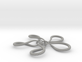 Turtle knot (Rope) in Aluminum: Small