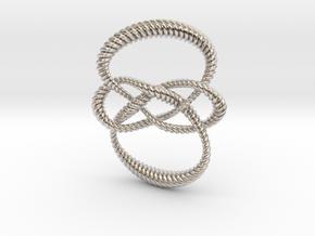 Carrick mat (Rope) in Platinum: Small