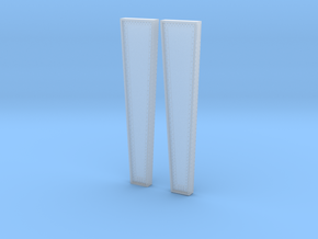 Left and Right Pier Masters for Rt 15 Bridge Wethe in Smoothest Fine Detail Plastic