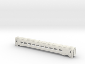 ETR610-Carriage 4 Z, N and TT in White Natural Versatile Plastic: 1:120 - TT
