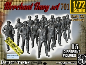 1/72 Merchant Navy Set701 in Frosted Ultra Detail