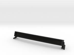 1/10 scale TAMIYA TUNDRA T-REX LIGHT BAR in Black Natural Versatile Plastic
