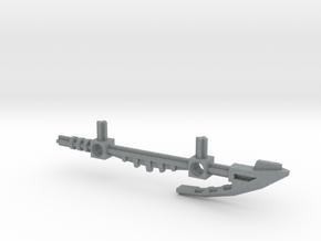 Bionicle staff (Whenua, set form) in Polished Metallic Plastic