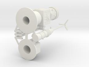 moisturevaporator at 1:44 scale in White Natural Versatile Plastic