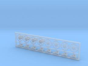 Seiltrommel Typ-A (4 Stück) in Smooth Fine Detail Plastic
