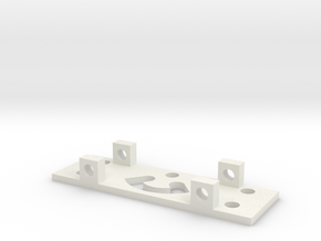 GEAR RIGHT BRACKET in White Natural Versatile Plastic