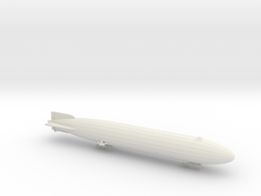 Zeppelin P-Type 1/1250 scale (SLS) in White Natural Versatile Plastic