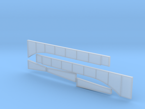 Rt 15 Wethersfield Bridge girders and piers in Smoothest Fine Detail Plastic