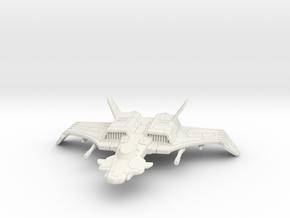 F-44A Rapier: 1/270 scale in White Natural Versatile Plastic