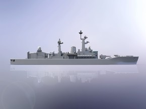 Indian INS Taragiri Frigate 1/700 in Smooth Fine Detail Plastic