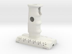 Swedish Vaper -Thor- Hilt Grip 1 in White Natural Versatile Plastic