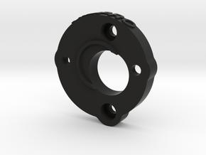 058018-01 Blackfoot Motor Mount Plate in Black Natural Versatile Plastic