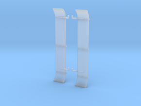 LPG setback triaxle flattop fenders in Smooth Fine Detail Plastic