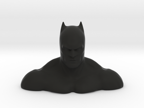 Non-scale John Jonmes' Batman Bust in Black Strong & Flexible