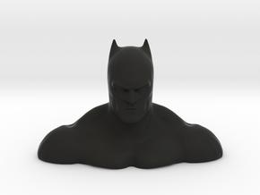 Non-scale John Jonmes' Batman Bust in Black Natural Versatile Plastic