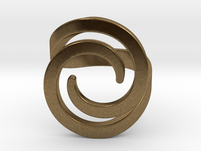 Fashion ring in Natural Bronze