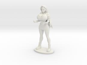 Layla 5.8 inch statue in White Natural Versatile Plastic