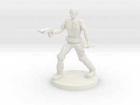 Deathboy Raider  in White Natural Versatile Plastic