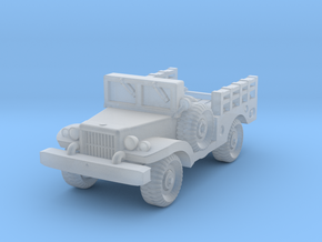 Dodge WC51 - Allied WWII Vehicle Miniature in Smooth Fine Detail Plastic