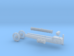 Tudor Mary Rose Cannon in Smooth Fine Detail Plastic