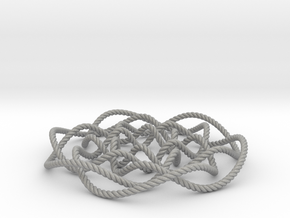 Rose knot 6/5 (Rope) in Aluminum: Small