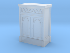 Gothic Cabinet  in Smooth Fine Detail Plastic: 1:48 - O