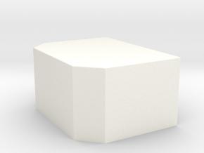 Plane für Nooteboom Pendel-X in 1:87 in White Processed Versatile Plastic