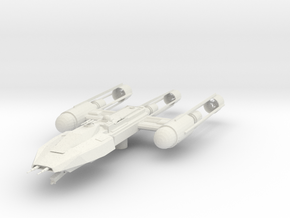 M-class Starfighter in White Natural Versatile Plastic