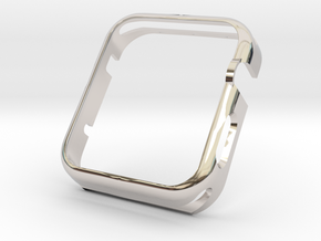 Apple Watch Gold Cover Case 42mm in Platinum